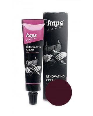 Bordowy krem do renowacji skóry licowej Renovating Cream Kaps