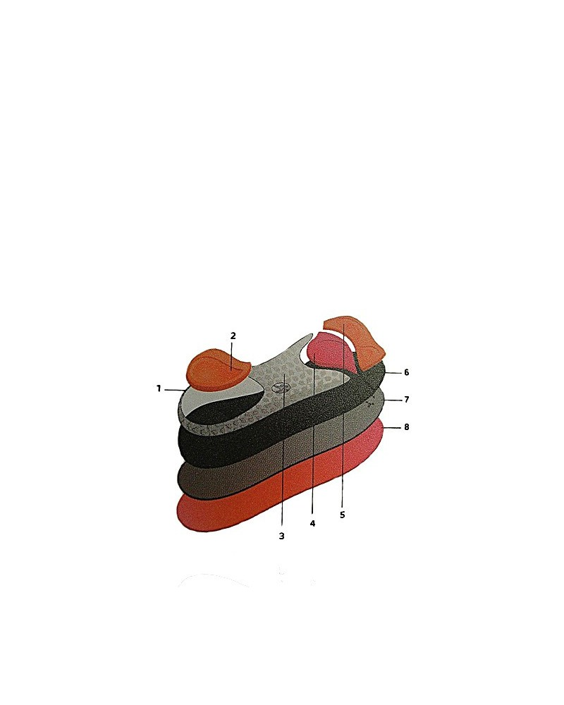 Wkładka do uprawiania aerobiku fitnesu Aerobics Bama