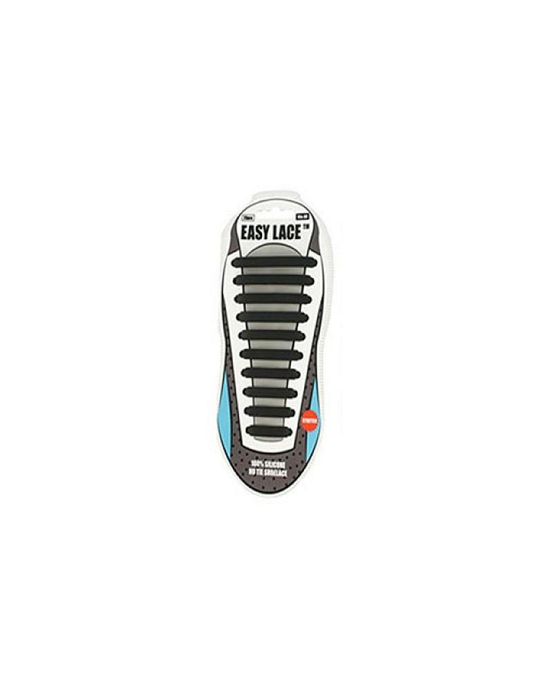 Czarne sznurówki siliconowe do butów Easy Lace