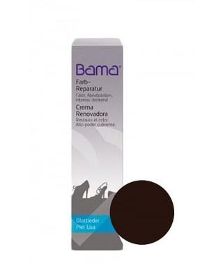 Ciemnobrązowa farba do renowacji skóry licowej Farb Reparatur Bama