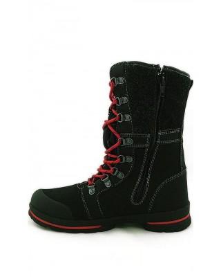 Śniegowce damskie, Softshell, 101SB950, czarne