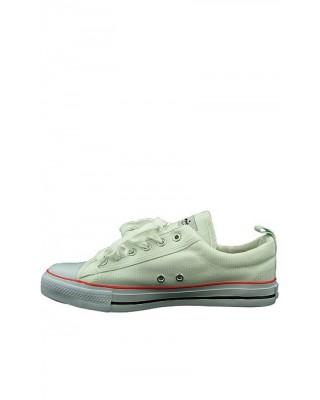 Białe trampki tenisówki męskie sneakersy do kostki