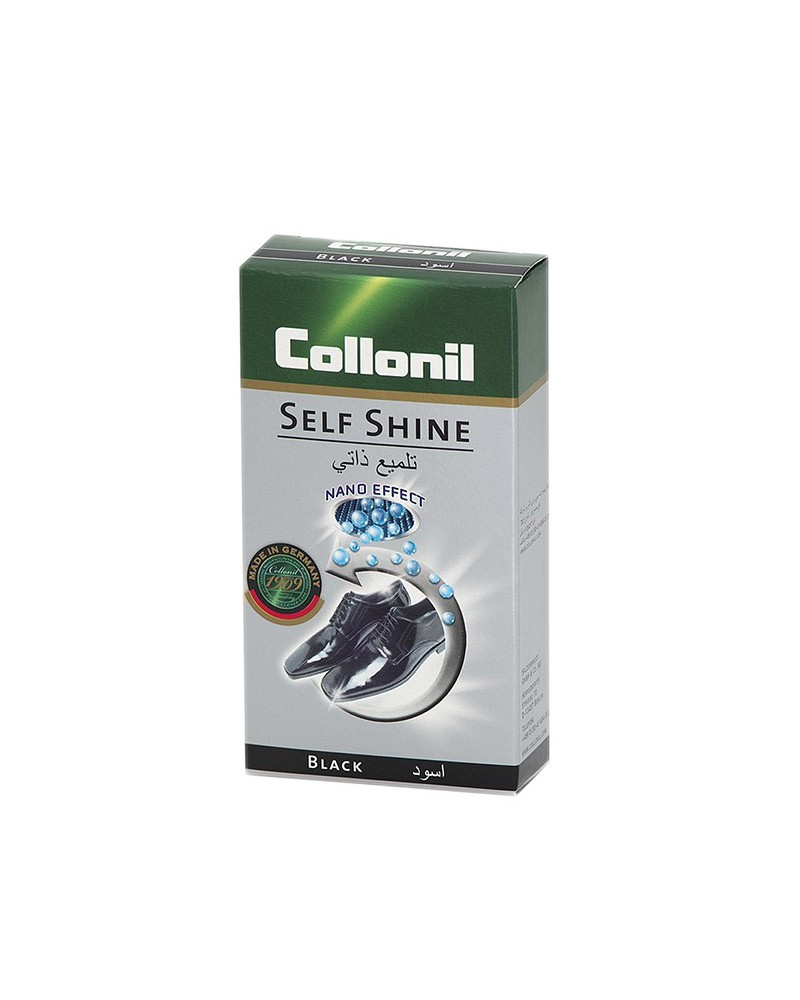 Czarna pasta w płynie do skóry licowej, Self Shine, Collonil, 50 ml