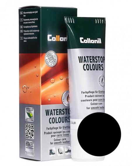 Czarna pasta do butów Waterstop Collonil schwarz-lack 724