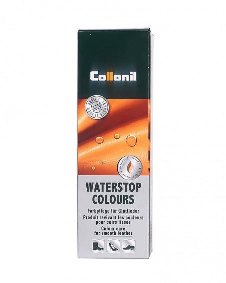 Beżowa pasta do butów, pasta do skóry licowej Waterstop Collonil 052