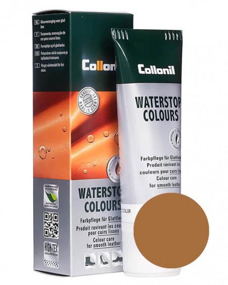 Brązowa, jasnobrązowa pasta do butów, pasta do skóry licowej Waterstop Collonil