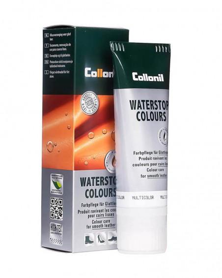 Biała pasta do butów, pasta do skóry licowej Waterstop Collonil 025 White