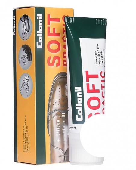 Bezbarwna pasta do butów, Soft Practic Collonil 050, 75 ml