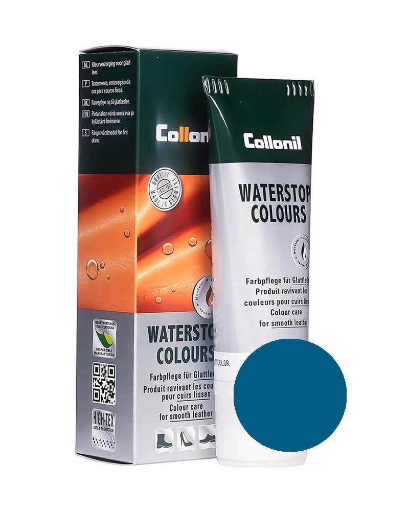 Niebieska pasta do butów, Waterstop Collonil 584, Washed Denim