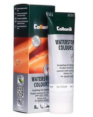 Żółta pasta do butów, Waterstop Collonil 101, Sonne, 75 ml
