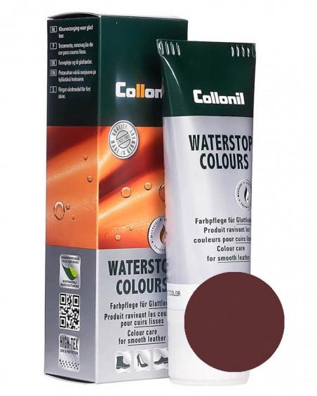 Bordowa pasta do butów, do skóry licowej, Waterstop Collonil, 75 ml