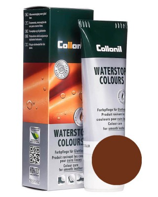 Brązowa pasta do butów, Waterstop Collonil 398, 75 ml
