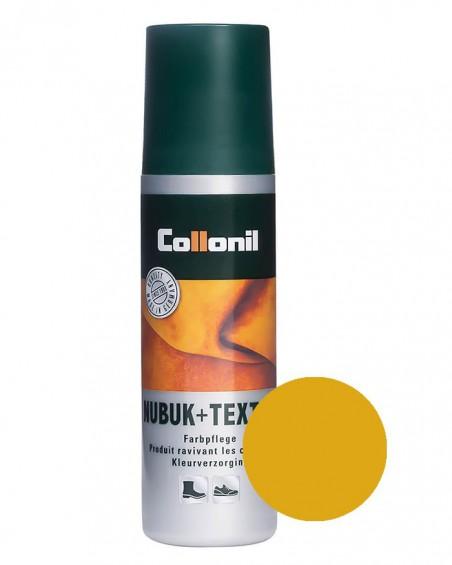 Żółta pasta w płynie do zamszu, nubuku, 101, Nubuk Textile, Collonil