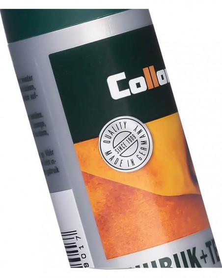 Ciemnobrązowa pasta, renowator do zamszu, nubuku, Nubuk Textile Collonil