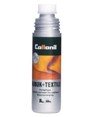 Ciemnoszara pasta, renowator do zamszu, nubuku, Nubuk Textile Collonil