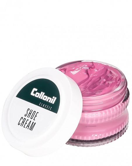 Różowy krem do butów, Shoe Cream Collonil, Fuchsia 439, 50 ml