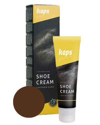 Brązowy krem, pasta do butów, Shoe Cream Kaps, 139, 75 ml
