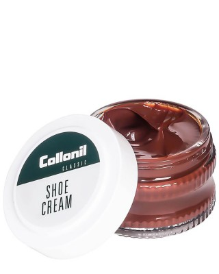 Brązowy krem do butów, Shoe Cream Collonil, Mittelbraun, 50 ml