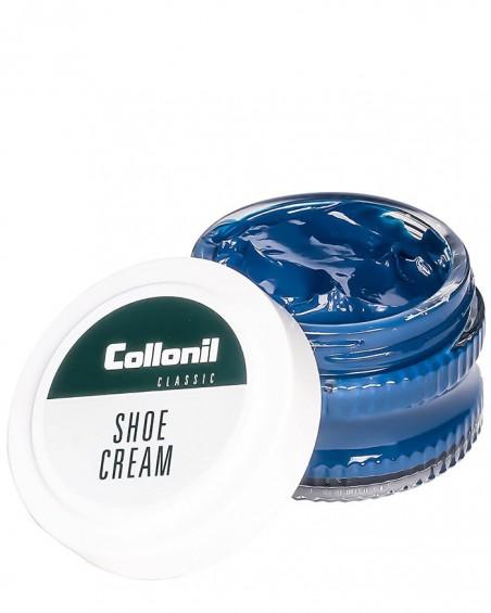 Niebieski krem do butów, pasta Shoe Cream Collonil, Indigo, 518, 50 ml