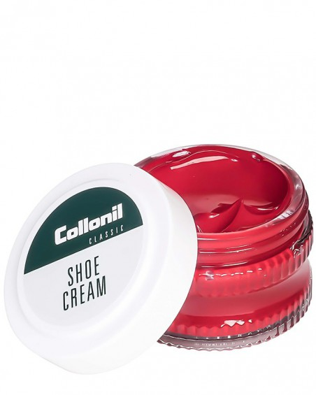 Czerwony krem do butów, pasta, Shoe Cream Collonil, Flamme, 407, 50 ml