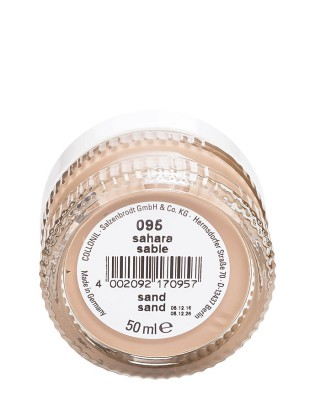 Beżowy krem do butów, Shoe Cream Collonil, Sahara, 50 ml