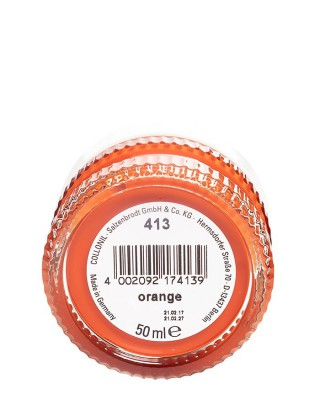 Pomarańczowy krem do butów, Shoe Cream Collonil, Orange 413, 50 ml