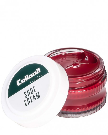 Czerwony krem do butów, Shoe Cream Collonil, Red 418, 50 ml