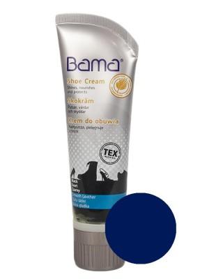 Granatowy krem, pasta do butów, Shoe Cream Bama, 082, 75 ml