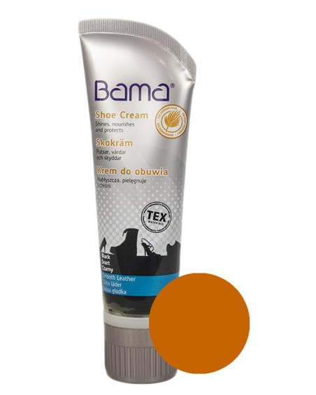 Koniakowy krem, pasta do butów, Shoe Cream Bama, 045, 75 ml