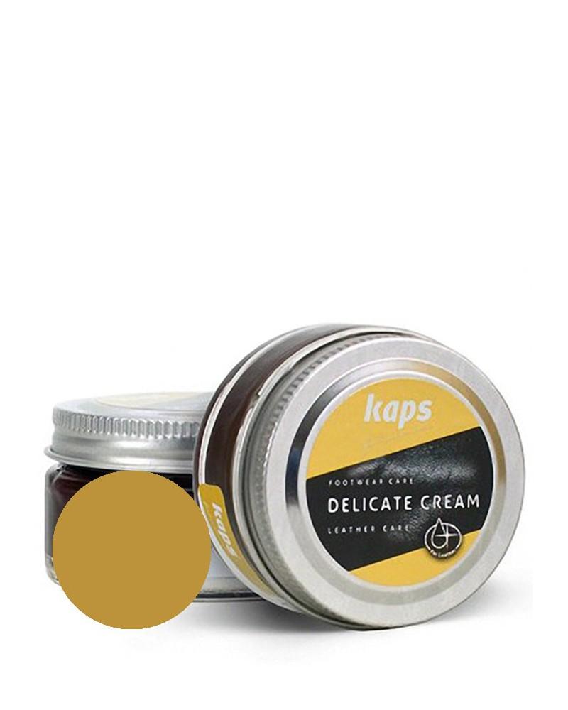 Krem, pasta do skóry licowej, Delicate Cream Kaps, 406, Stare złoto