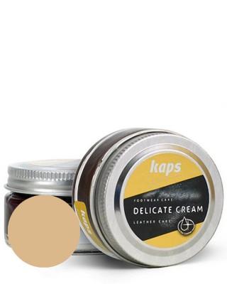 Beżowy krem, pasta do skóry licowej, Delicate Cream Kaps, 130