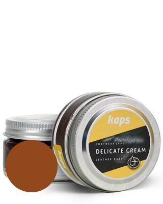 Krem, pasta do skóry licowej, Delicate Cream Kaps, 149, Koniak