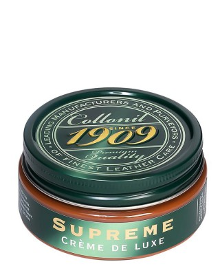 Jasnobrązowy krem do skór licowych, Supreme Creme De Luxe, Collonil