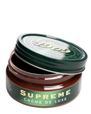 Brązowy krem do skór licowych, Supreme Creme De Luxe, Collonil