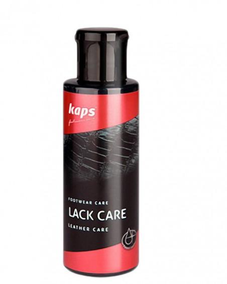 Czarna pasta w płynie do skóry lakierowanej, Lack Care, Kaps