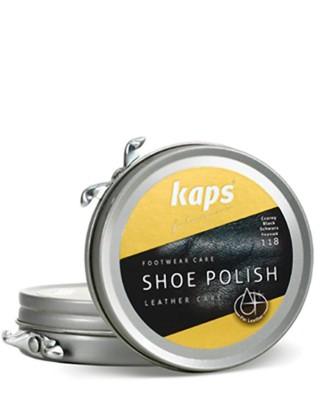 Czarna pasta do butów, klasyczna, Shoe Polish Kaps, 118, 50 ml