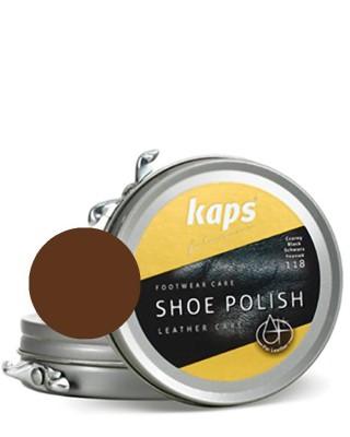 Brązowa pasta do butów, klasyczna, Shoe Polish Kaps, 139, 50 ml