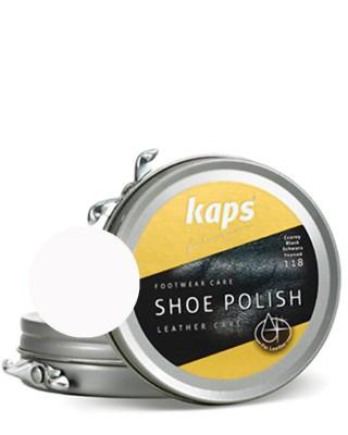 Bezbarwna pasta do butów, klasyczna, Shoe Polish Kaps, 100, 50 ml