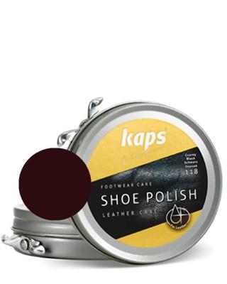 Ciemnobrązowa pasta do butów, klasyczna, Shoe Polish Kaps, 106, 50 ml