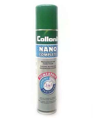 Pianka nano do czyszczenia, impregnacji, Nano Complete, Collonil, 200 ml