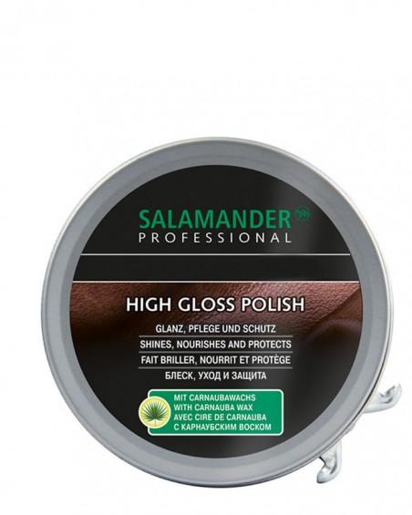 Czarna, klasyczna pasta do butów, High Gloss Polish, Salamander