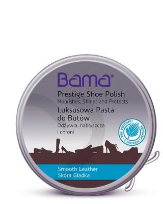 Bezbarwna, klasyczna pasta do butów w metalowym pudełku, Lux, Bama
