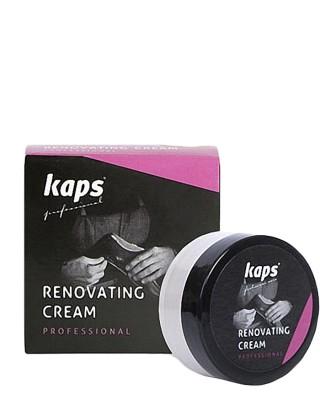 Ciemnobrązowy krem do renowacji skóry licowej, Renovating Cream, Kaps
