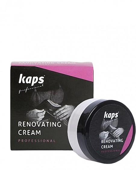 Czarny krem do renowacji skóry licowej, Renovating Cream, Kaps