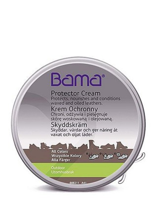 Krem ochronny, tłuszcz do skóry naturalnej, Bama, 100 ml