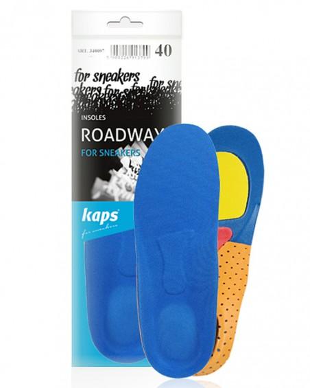 Wyprofilowana wkładka do sneakersów, męska, Roadway Kaps