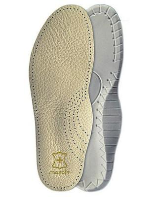 Wkładka do butów skórzana, profilowana, męska, Travel MO414