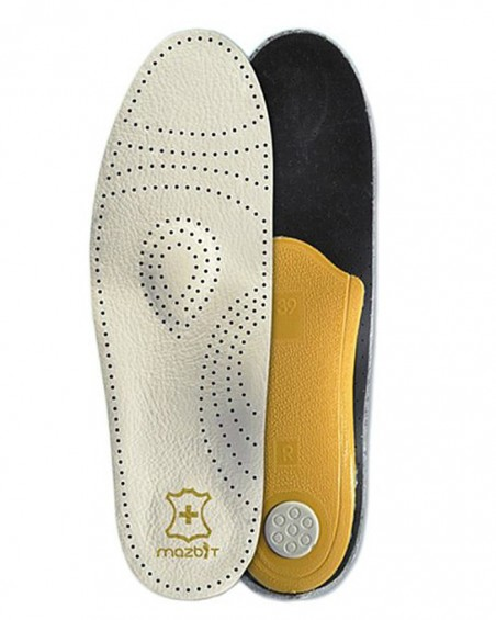 Wkładka do butów, skórzana, ortopedyczna, męskie, Perfect MO302