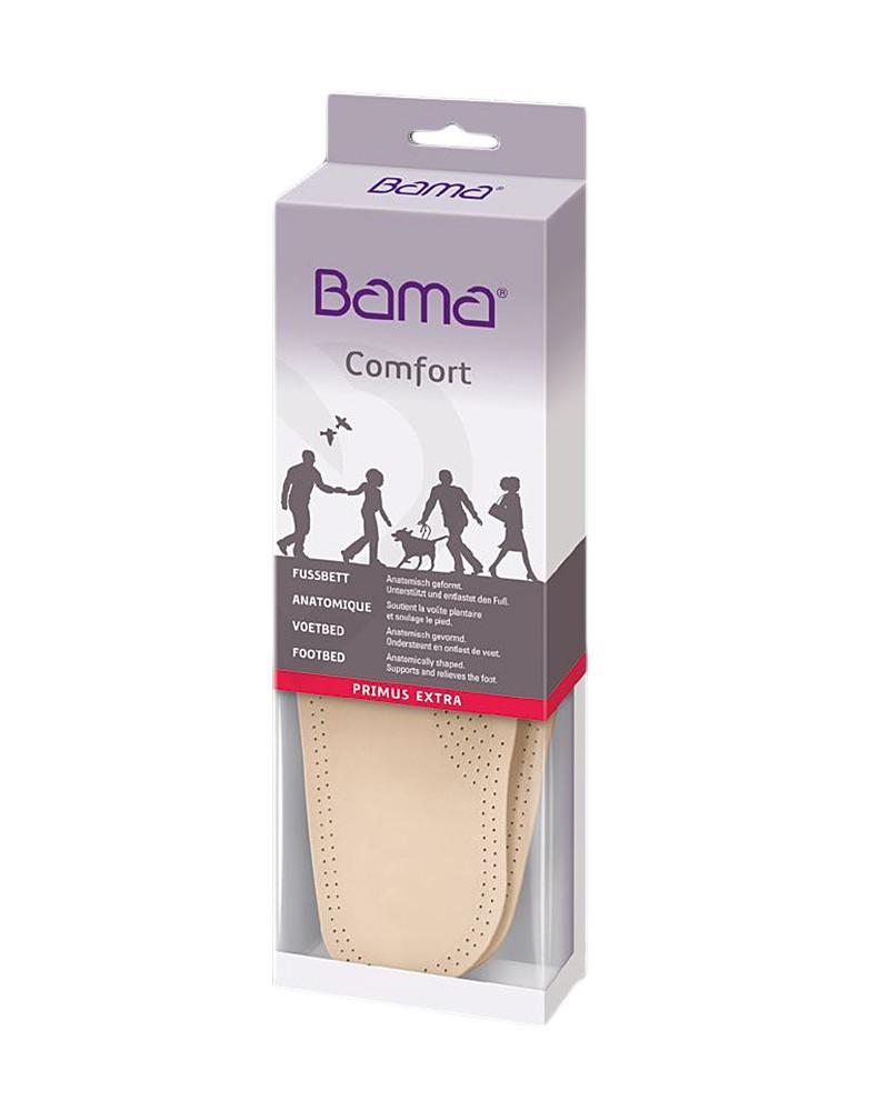 Wkładka do butów, skórzana, profilowana, Primus Extra, Bama