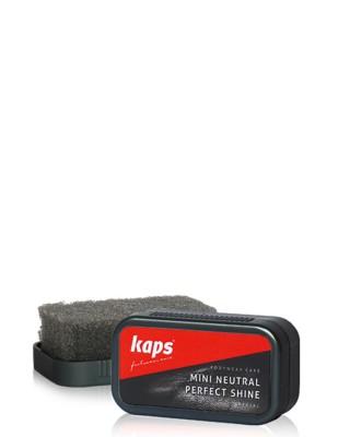 Mini gąbka do czyszczenia, nabłyszczania butów, bezbarwna, Kaps
